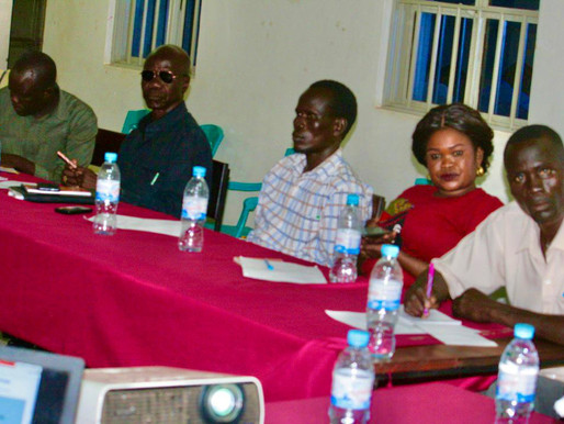 Two Days of Central Equatoria state Journalists training kicks off.