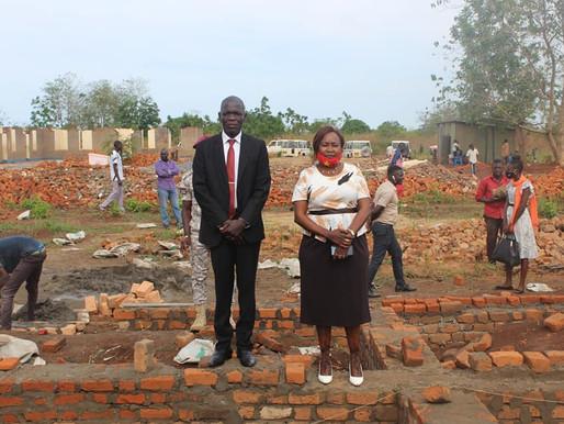Foundations laid at Western Equatoria University