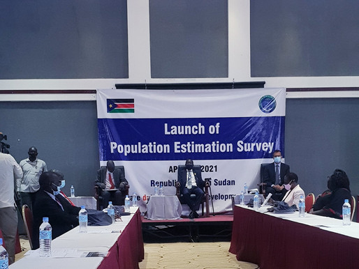 2021 Population Estimation Survey launches in Juba