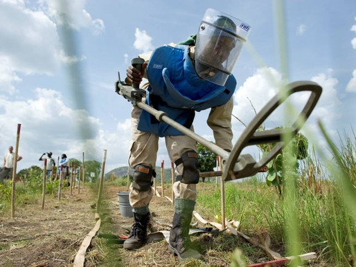 South Sudan given until 2026 to clear mines