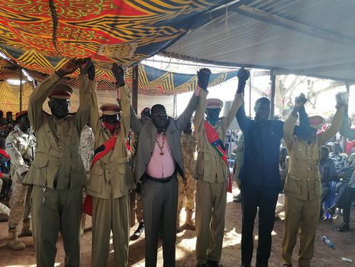 Northern Bahr el Ghazal celebrate Santino Deng Wol's inauguration