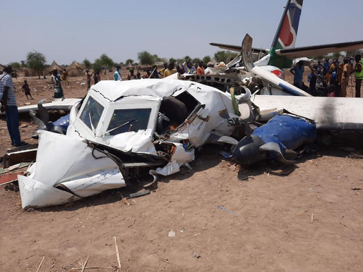 Plane crash kills 10 in Jonglei state: President responds