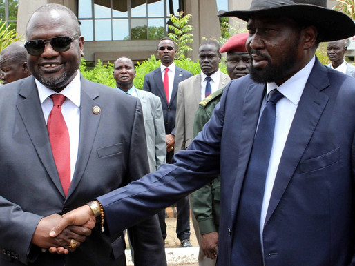 Machar and Kiir meet to emphasise R-ARCSS commitment