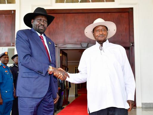 President Kiir congratulates Museveni