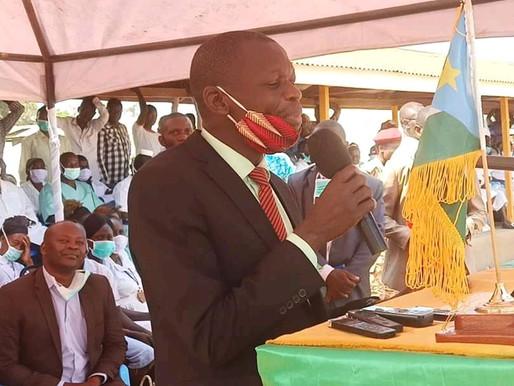 Western Equatoria Governor prioritises development in State visit