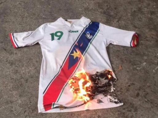 South Sudan FA condemns shirt burning