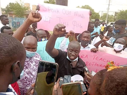Mobil roundabout protestors released without charge