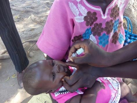 South Sudan launches second dose of polio vaccine