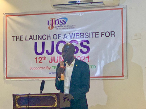 South Sudan Union of Journalists laumched its website