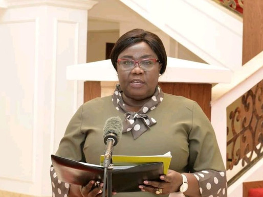 President Kiir removed the foreign affairs minister and replaced her with Mayiik Ayiik Deng.