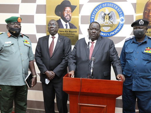 Security services commit to national stability