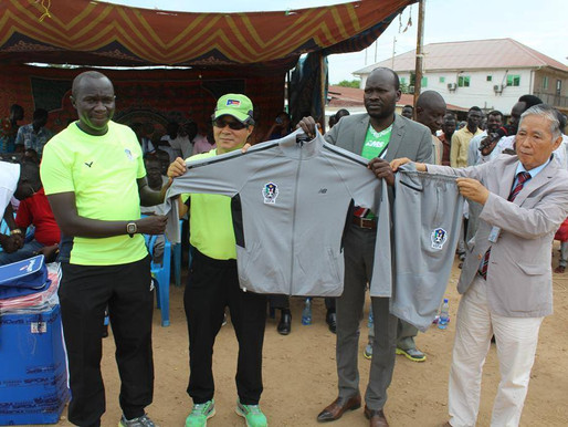 South Korean mission supports South Sudanese football