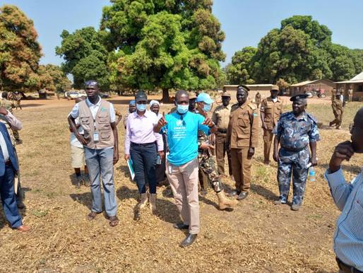 UNMISS donates $50,000 for Mundri prison construction