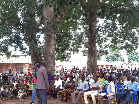 Western Equatoria - a message of solidarity