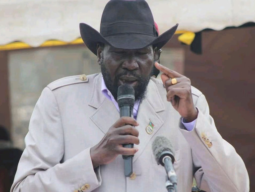 President Kiir visits Bor, extends solidarity to flood victims