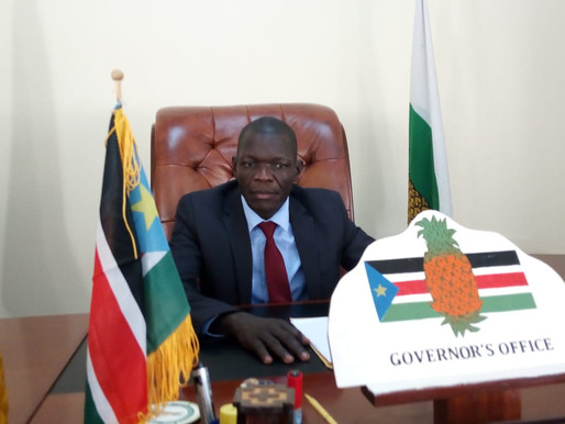 Western Equatoria governor publishes state update
