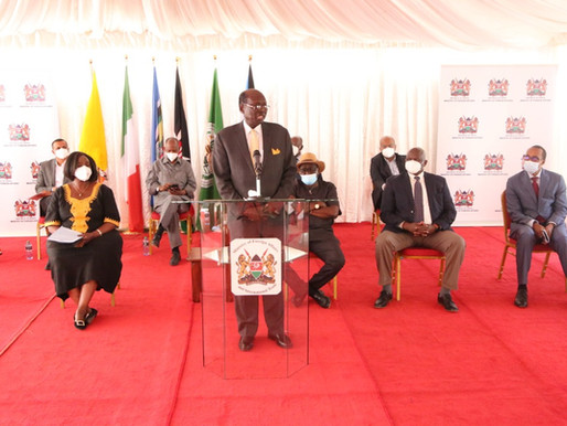 Kenyan government affirms Naivasha progress