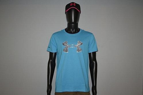 Компрессионная футболка Under Armour, цвет синий