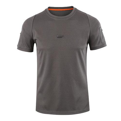 Влагоотводящая футболка, цвет серый