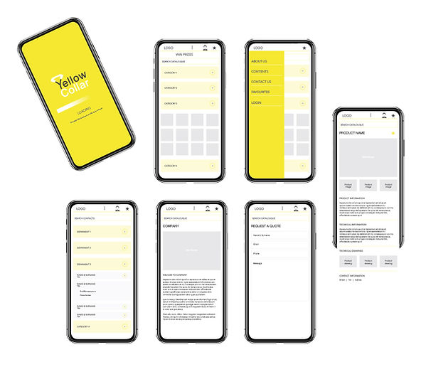 Yellow Collar App
