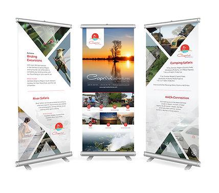 Caprivi Adventures Banners