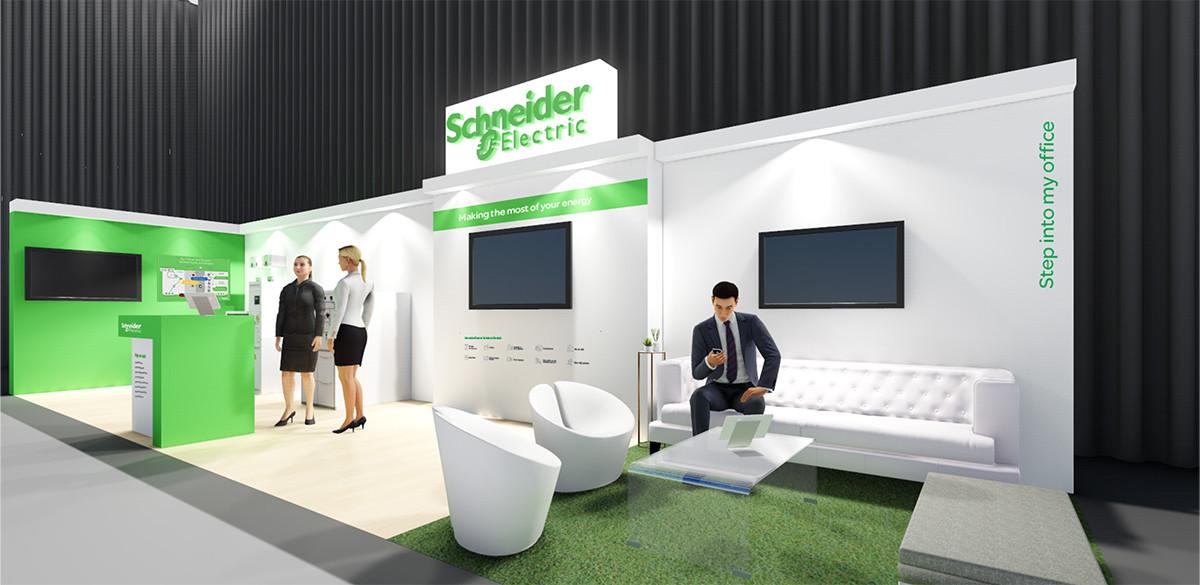 Schneider Electric Stand Design