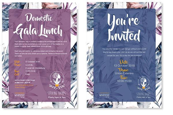 Serving Hands Invite