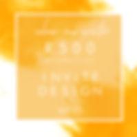 Invite Design Promotion