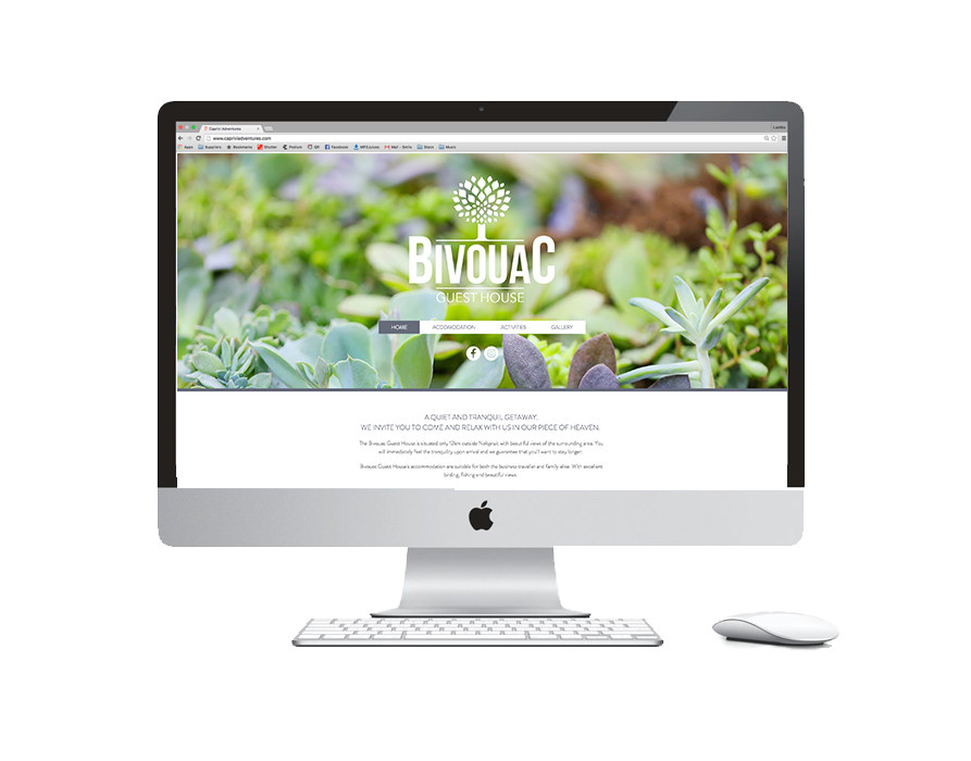 Bivouac Website Design