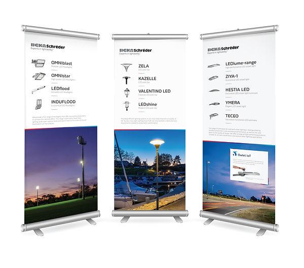 BEKA Schreder Banners