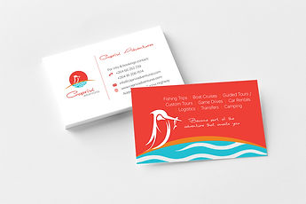 Caprivi Adventures Business Cards