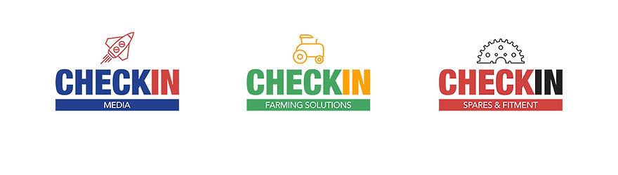 Checkin logos