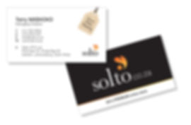 Solto Business Cards