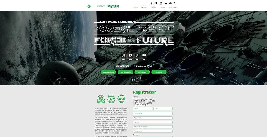SE Event Website