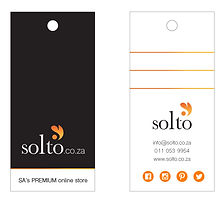 Solto Clothing Tags