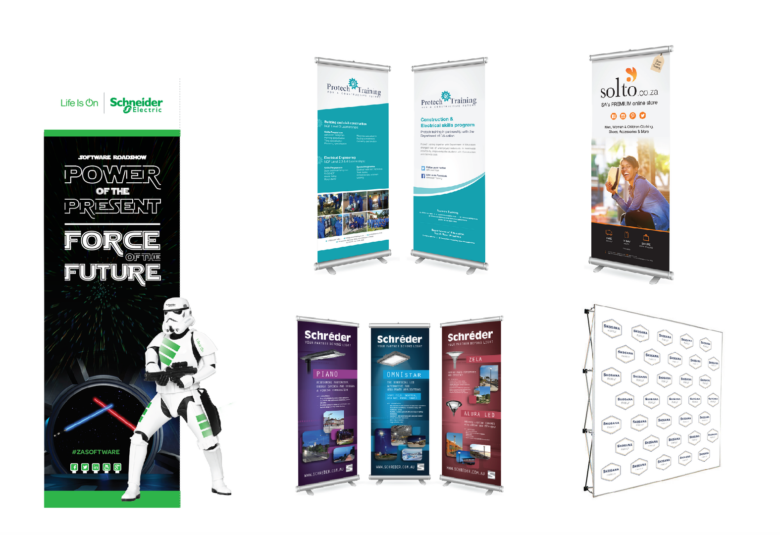 Pull up banner designs and printing