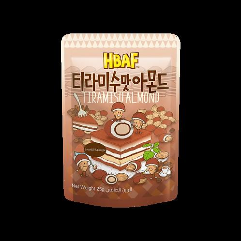 Tiramisu Chocolate Almond 25g