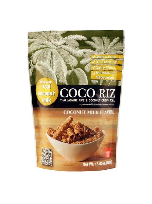 Coco Riz Roll Coconut Milk Flavor 100g