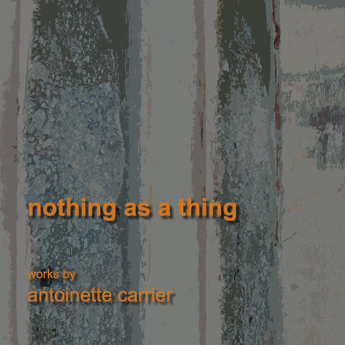 Nothing as a Thing