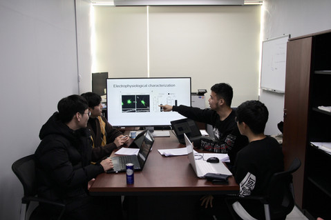 The 1st lab meeting