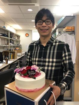Prof. Yoon Birthday