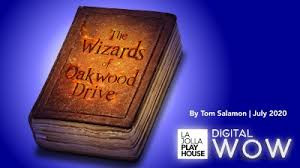 Julia as Stage Manager for La Jolla Playhouse's WIZARDS OF OAKWOOD DRIVE
