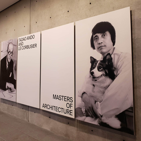 Translation | Ando and Le Corbusier: Masters of Architecture Exhibition at Wrightwood 659