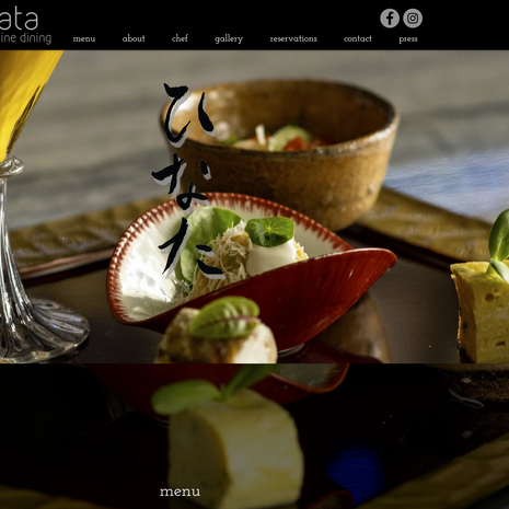 Website | Restaurant Hinata