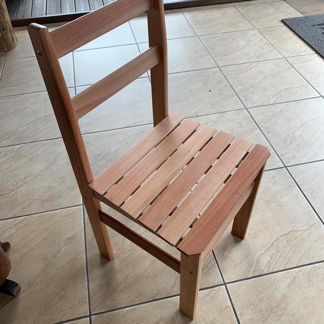 Cadeira Eucalipto Ripada
