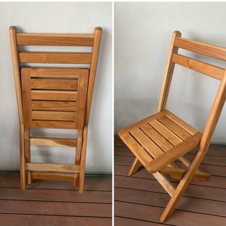 Cadeira Teca Dobrável