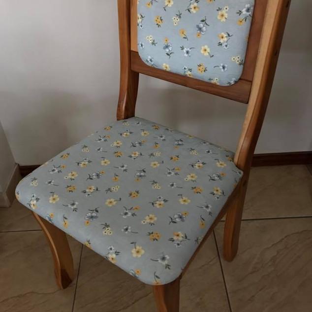 Cadeira Teca Fixa
