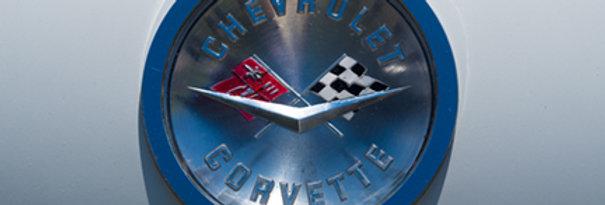 Corvette decal
