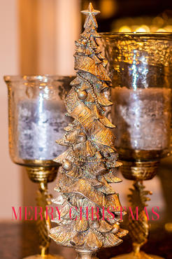 Metal Christmas tree on countertop.jpg