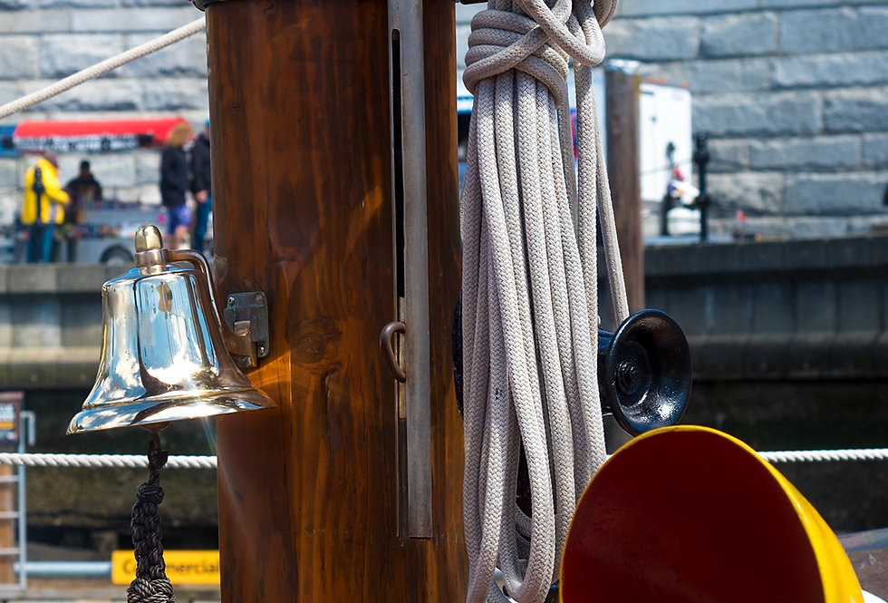 Nautical - 2 ships bell